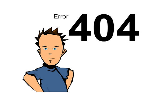 pagina errore 404